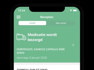MedicatieThuis app
